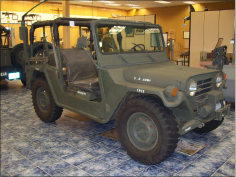 Jeep image from the Museum of Military History, Kissimmee, Florida
