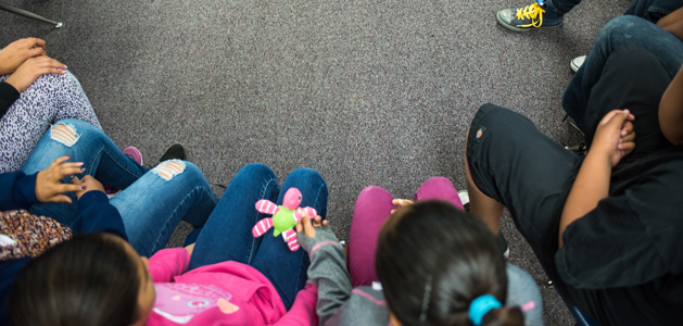 image of students in a circle from Soulofphotography.com
