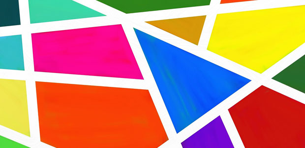 image of colored geometric shapes