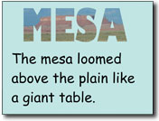 Pixie Sample - Cool Word Mesa Project